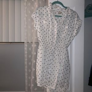 Button dress!